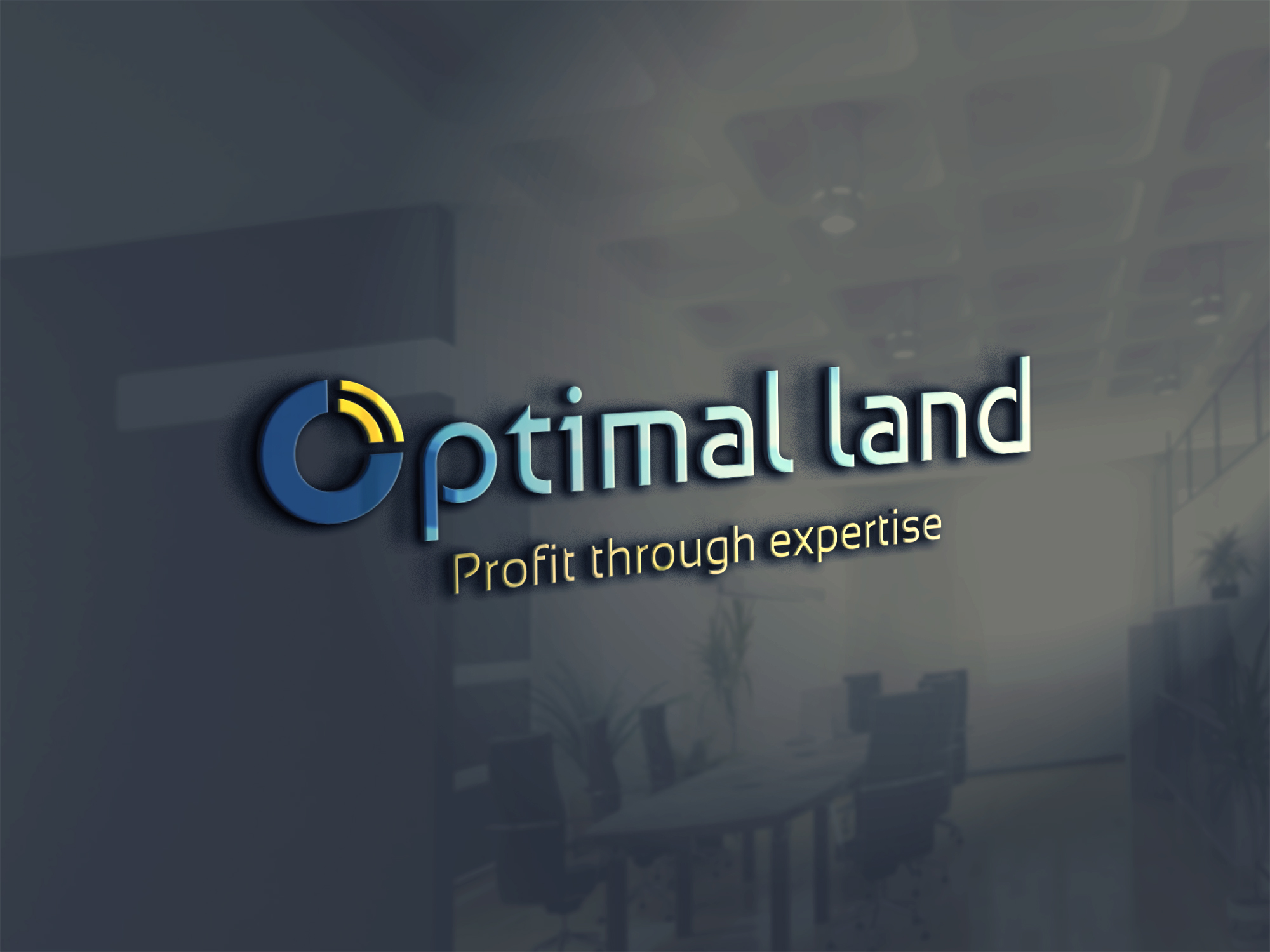 Optimal Land OPTIMAL-LAND-sign Home